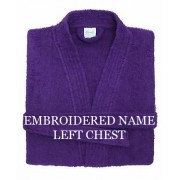 Personalised Embroidered Bath robe