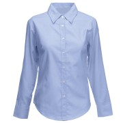 PCR932F Ladies Oxford Shirt Long Sleeved